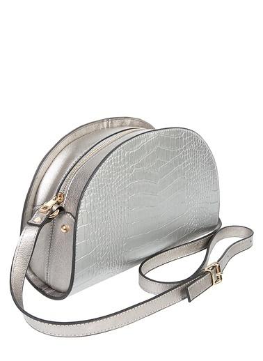 Matraş Çanta Gümüş